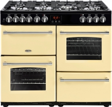 Belling Farmhouse Gas Range Cooker 100DFT Cream