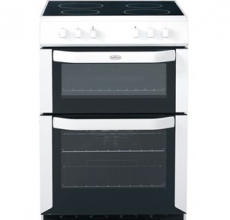 Belling Electric Cooker FSE60DO White
