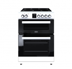 Belling Electric Cooker FSE608DPC White