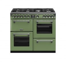 Stoves Richmond Deluxe S1000G Boutique Soho Green