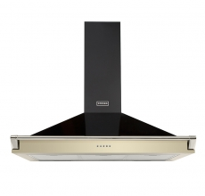 Stoves Richmond 90cm Cooker Hood with Rail - Champagne