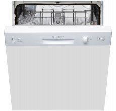 Hotpoint semi integrated dishwasher LSB5B019W