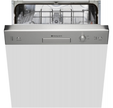 Hotpoint semi-integrated dishwasher LSB 5B019 X