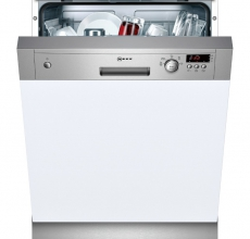 NEFF SEMI INTEGRATED DISHWASHER S41E50N1GB STAINLESS STEEL