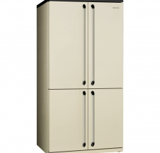 Smeg FQ960P Victoria Cream Freestanding Four Door American