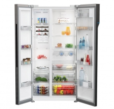 Beko Side by Side Fridge Freezer ASGL142X American Style