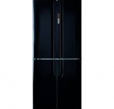 CDA PC88BL four door fridge freezer