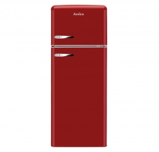 Amica Retro Fridge Freezer FDR2213R Red