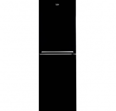 Beko Fridge Freezer CFG1552B Black