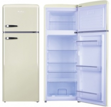 Amica Retro Fridge Freezer FDR2213C Cream