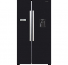Hisense American Style Fridge Freezer RS741N4WB11 Black