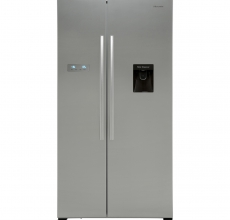 Hisense American Style Fridge Freezer RS741N4WC11 Stainless Steel
