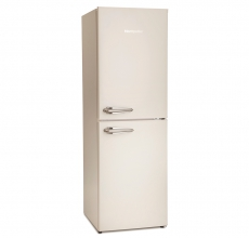 Montpellier Fridge Freezer MAB148C Cream