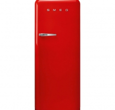 Smeg Retro Fridge FAB28RRD5UK With Icebox Red