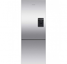 Fisher & Paykel Fridge Freezer RF402BRPUX6 With Ice & Water Dispenser Stainless Steel