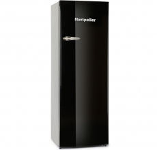 Montpellier Tall Fridge with Icebox MAB340K Black