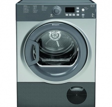 Hotpoint Self Condensing Tumble Dryer FTCF87BGG Graphite
