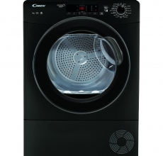 Candy Self Condensing Tumble Dryer GSVC9TGB Black