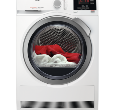AEG Self Condensing Tumble Dryer T6DBG822N White