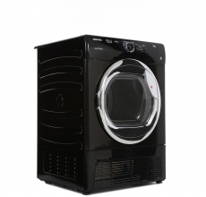 Hoover Freestanding Condenser Tumble Dryer HLC9DCEB - Black