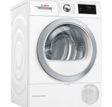 Bosch Heat Pump Tumble Dryer WTWH7660GB White