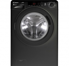 Candy Washer Dryer GCSW496TBB Black