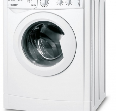 Indesit Washer Dryer IWDC65125UKN White