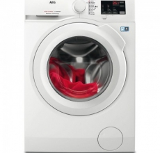 AEG Washing Machine L6FBK841N White