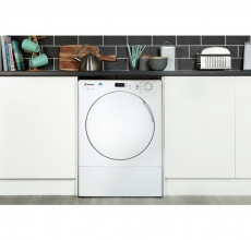 Candy Self Condensing Tumble Dryer CSC8DF White