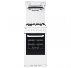 Beko  Gas Cooker with Eye Level Grill BCEG501W
