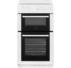 Belling Gas Cooker White FS50GDOL