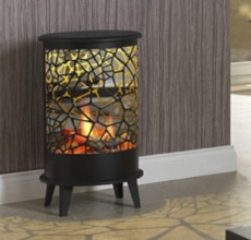 Dimplex Cellini and Votterra Opti-V Electric Fire