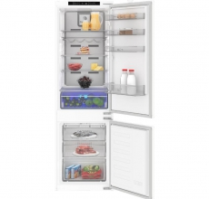 Blomberg integrated 70:30 dual cooling fridge freezer KND4552I