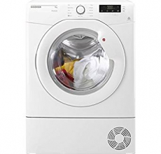 Hoover Self Condensing Tumble Dryer LLCD91B White