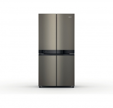 Hotpoint HQ9U1BL French Style 4 Door Fridge Freezer
