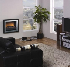 Dimplex Bizet Wall Mounted Electric Fire Dimplex Bizet Wall Mounted Electric Fire