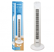 Benross 29 Inch Tower Fan 45W White