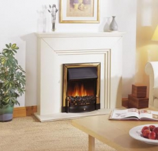 Dimplex Chalbury Brass Electric Fire