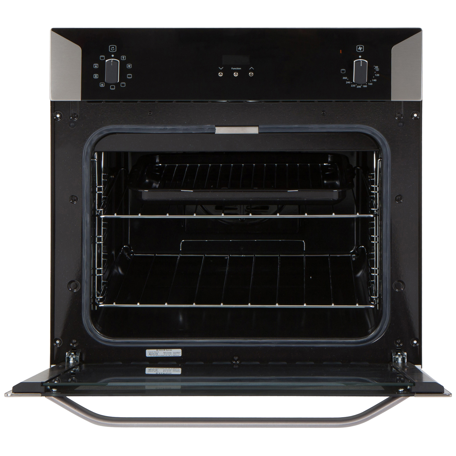 belling built in single oven bi60mf s steel. Black Bedroom Furniture Sets. Home Design Ideas