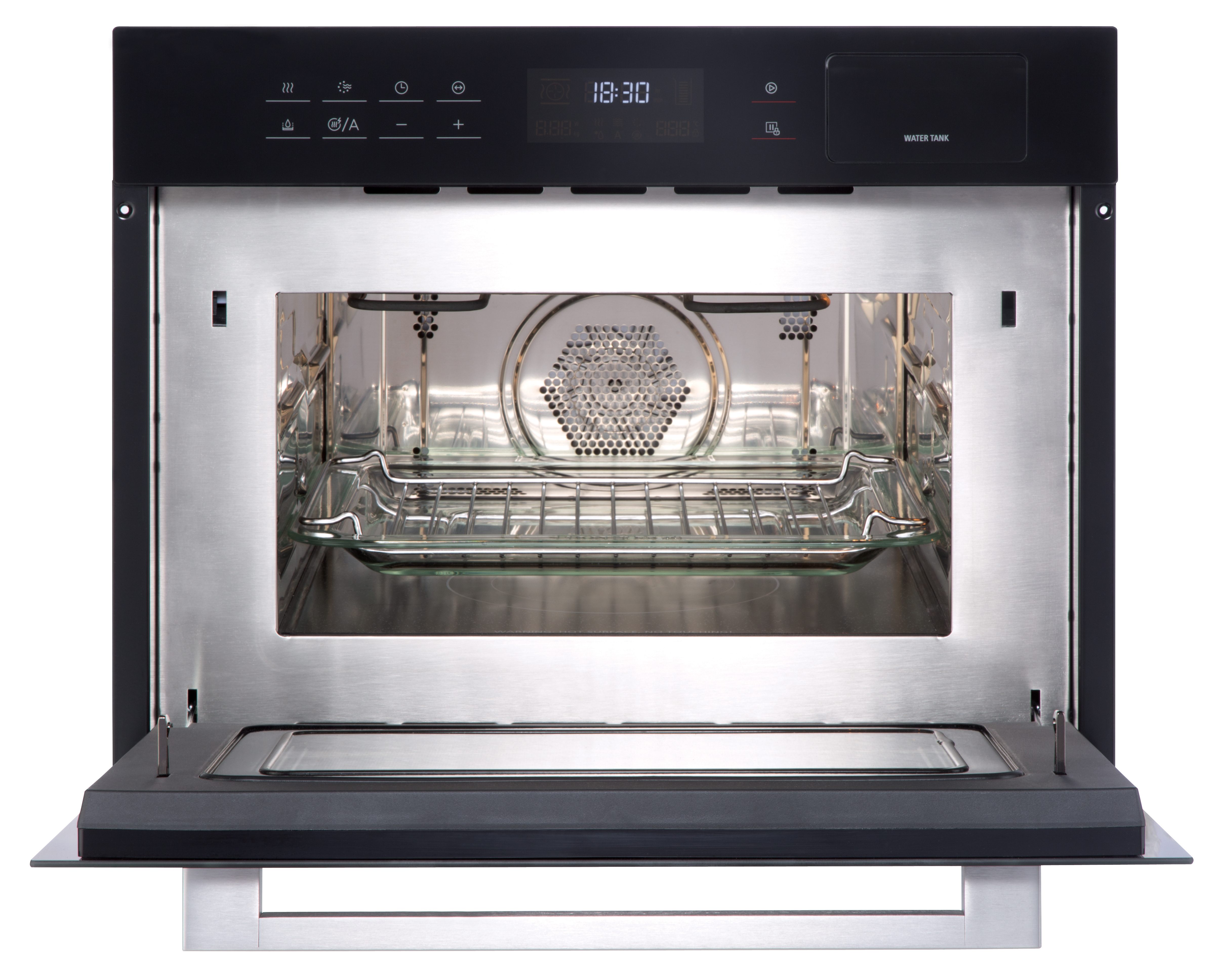 New World Suite Compact Oven Microwave Nw 45cm Black