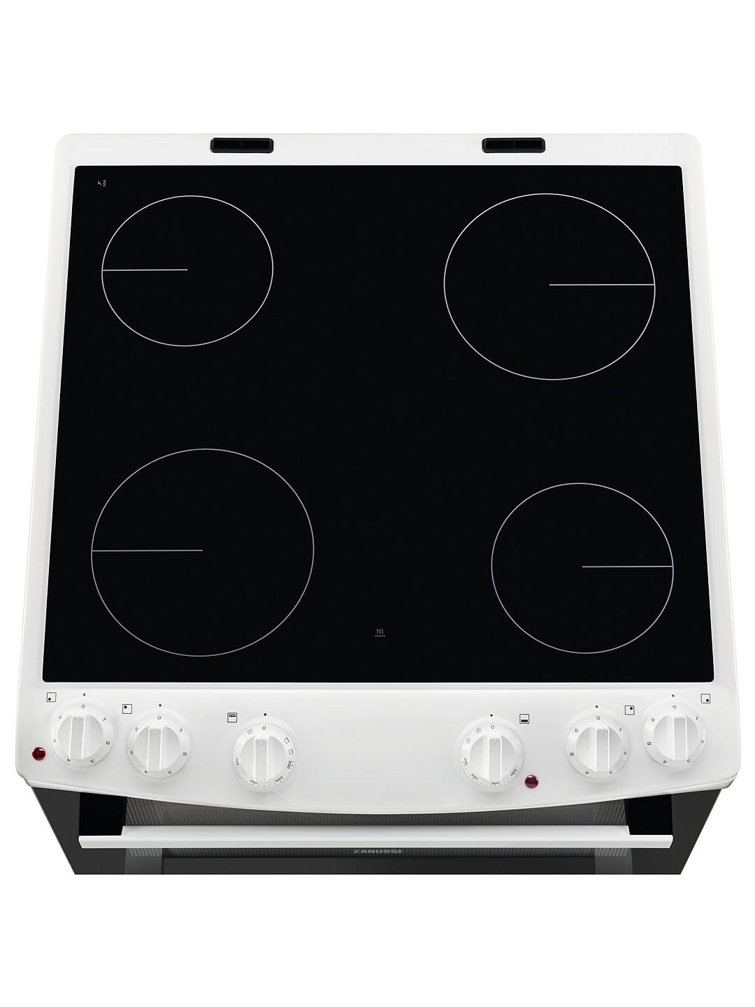 Zanussi Zcv66050wa Electric Double Oven