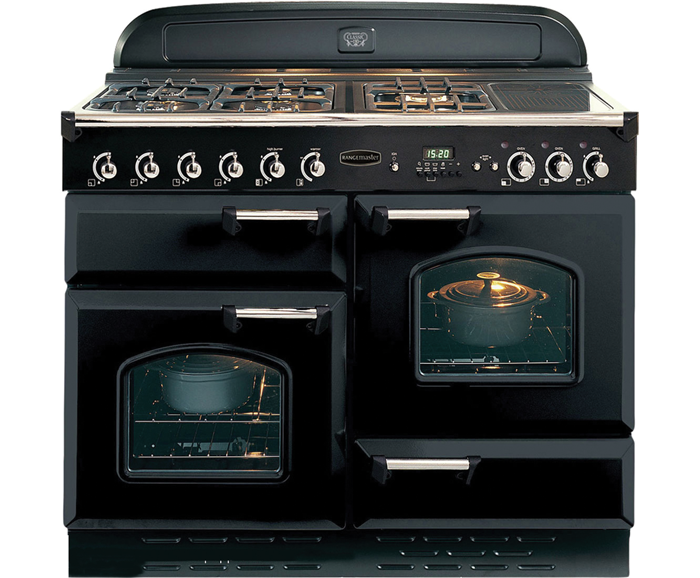 Range Style Cookers >> Rangemaster Classic 110 Dual Fuel