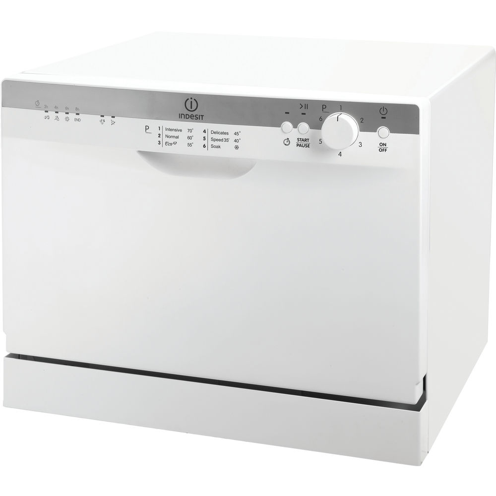 indesit table top dishwasher icd661 white. Black Bedroom Furniture Sets. Home Design Ideas