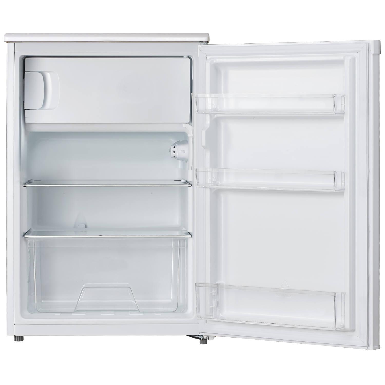 lec undercounter fridge r5517w with icebox. Black Bedroom Furniture Sets. Home Design Ideas