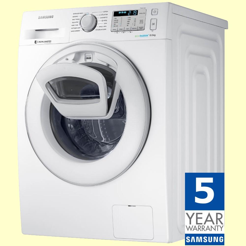 Samsung 8kg Washing Machine Ww80k5413ww