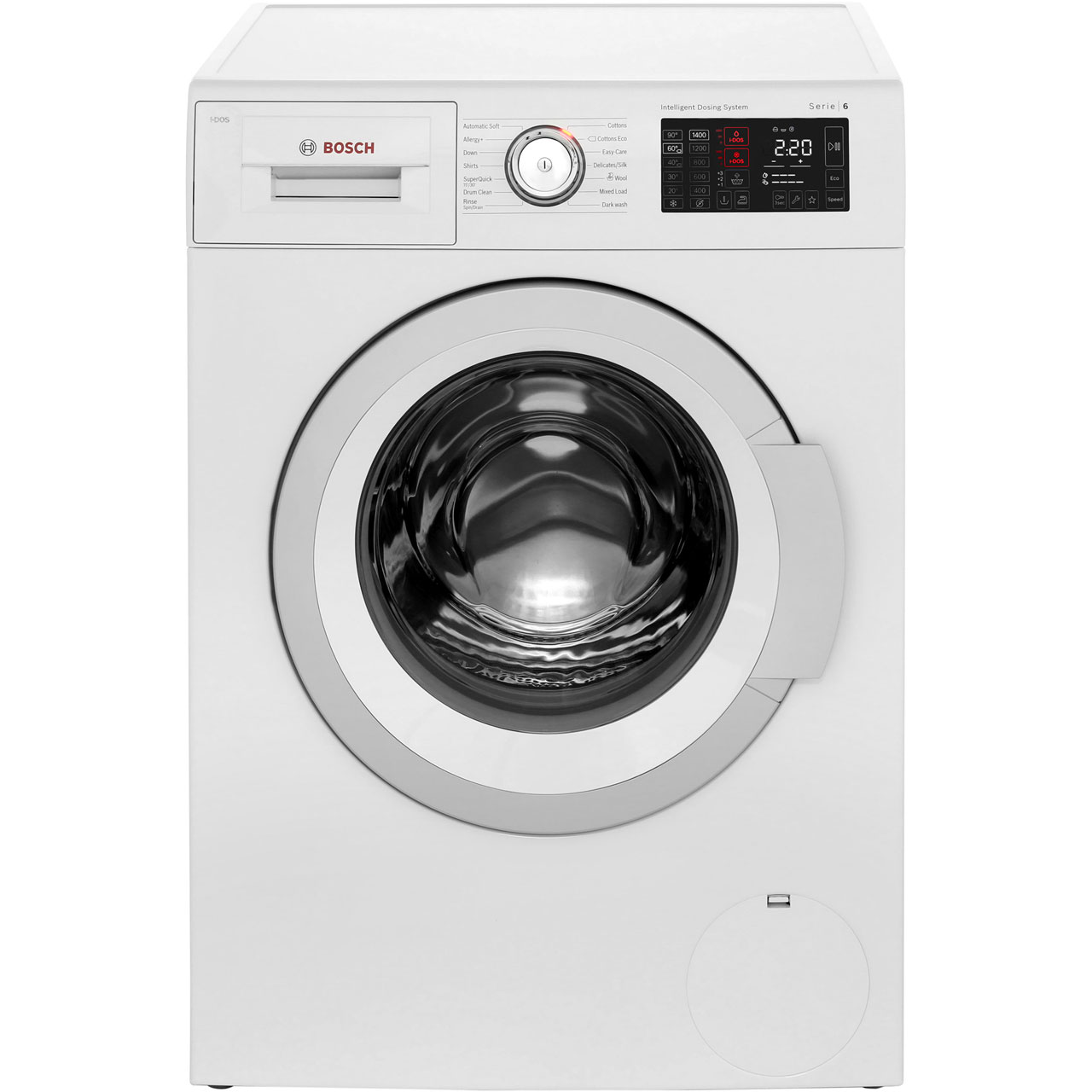 bosch i dos washing machine wat28660gb. Black Bedroom Furniture Sets. Home Design Ideas