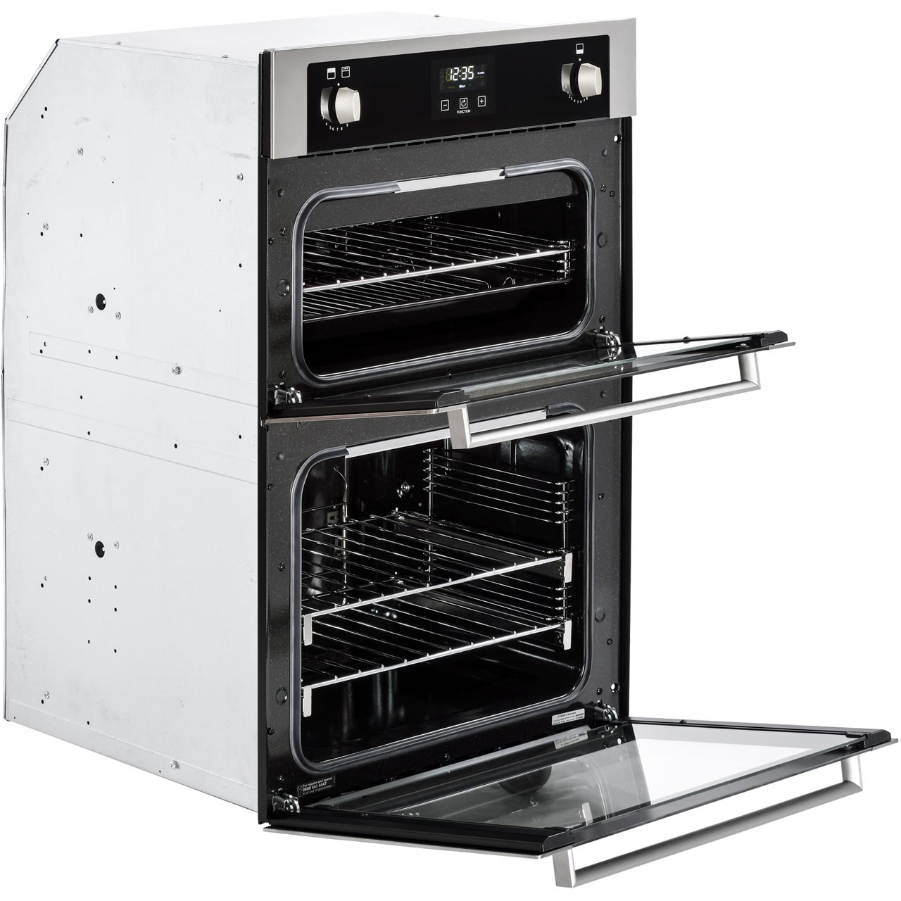 Stoves Bi900g Stoves Double Oven Black Gas